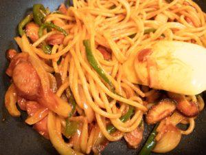麺径2.0mmスパゲティ投入