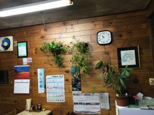 園食堂 創業期おしながきが貼られていた壁